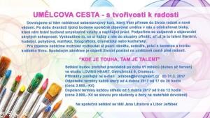 Umělcova cesta Olomouc duben 2017