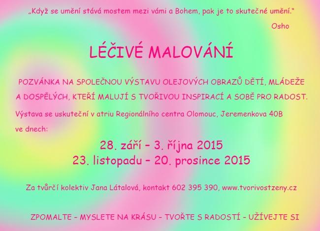 Pozvanka_lecive_malovani_2015